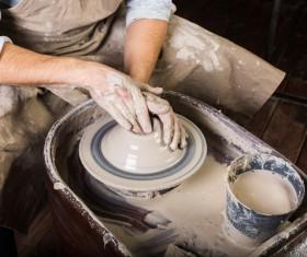 Handmade ceramic production Stock Photo 07