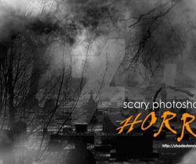 Horror Photoshop Brushes