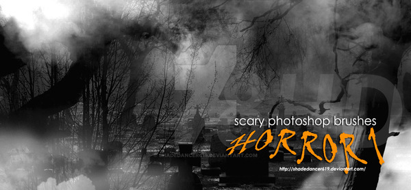 Horror Photoshop Brushes