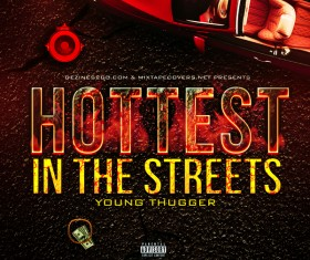 Hottest in the Street Cover Psd Template