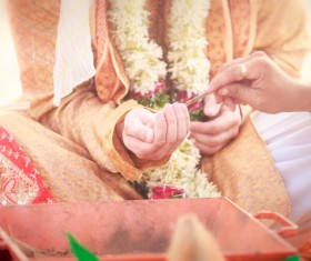 Indian wedding Stock Photo 02