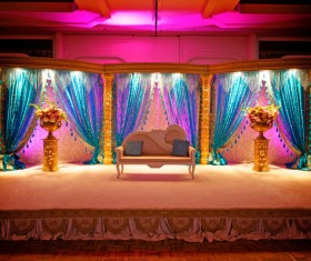 Indian wedding place Stock Photo 01