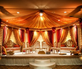 Indian wedding place Stock Photo 02