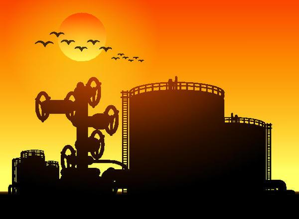 Industrial clipart illustration vector 04