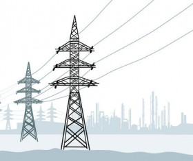 Industrial electricity vector material