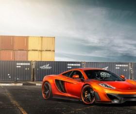 McLaren MP4-12C Stock Photo