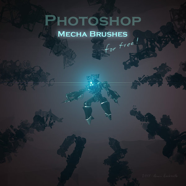 Mecha Photoshop Brushes