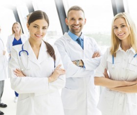 Medical team Stock Photo 02