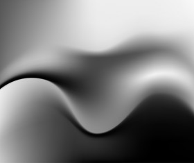 Metal wavy blurs background vector