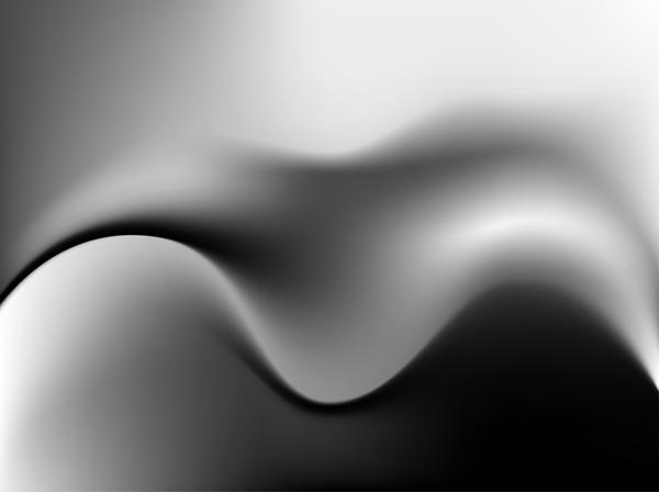 Metal wavy blurs background vector