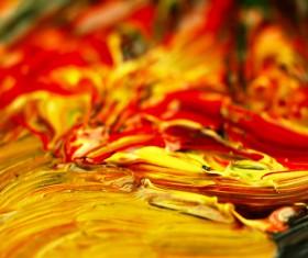 Oil paints Stock Photo 05