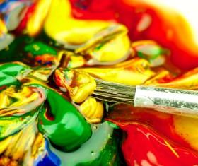 Oil paints Stock Photo 07