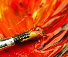 Oil paints Stock Photo 08