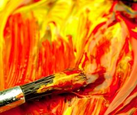 Oil paints Stock Photo 09
