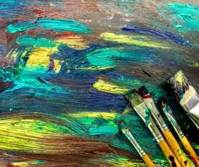 Oil paints Stock Photo 12