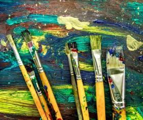 Oil paints Stock Photo 14