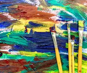 Oil paints Stock Photo 15