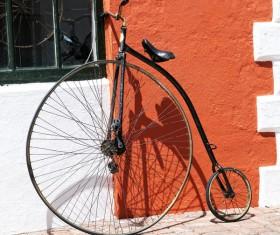 Old bikes Stock Photo 03