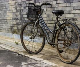 Old bikes Stock Photo 04