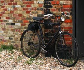 Old bikes Stock Photo 06