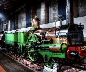 Old steam train Stock Photo 05