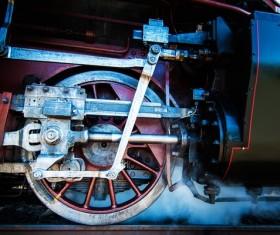 Old steam train Stock Photo 06