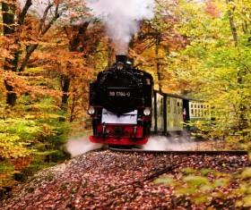 Old steam train Stock Photo 10