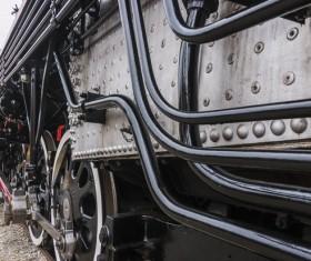 Old steam train Stock Photo 12