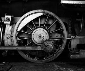 Old steam train Stock Photo 13
