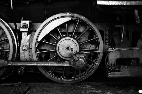 Old steam train Stock Photo 13
