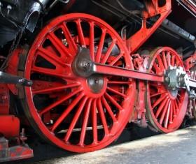Old steam train Stock Photo 14