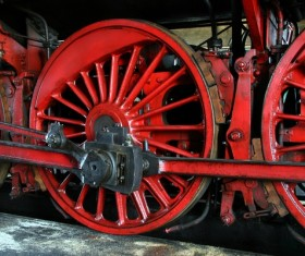 Old steam train Stock Photo 15