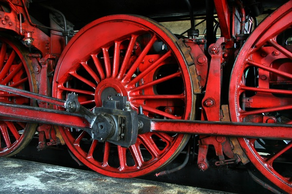 Old steam train Stock Photo 15