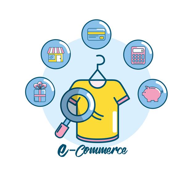 Online shopping business illustration 10