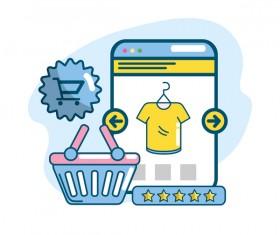 Online shopping business illustration 12