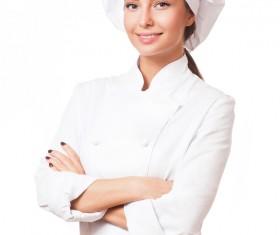 Pretty female cook Stock Photo 07