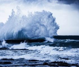 Rough seas Stock Photo 05