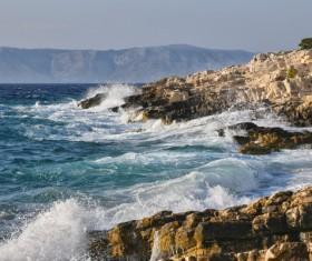 Rough seas Stock Photo 10
