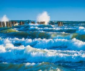 Rough seas Stock Photo 13