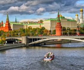 Russian Kremlin Stock Photo
