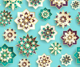 Seamless Islamic styles pattern vector
