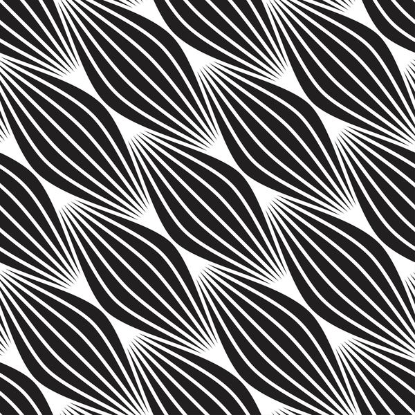 Seamless black with white art pattern vector 06