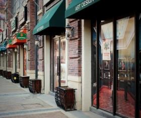 Shop on the street Stock Photo