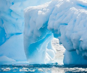 The cold Arctic Ocean Stock Photo 01