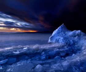 The cold Arctic Ocean Stock Photo 05
