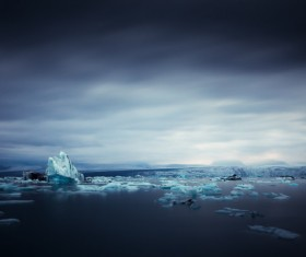 The cold Arctic Ocean Stock Photo 06