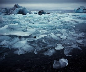 The cold Arctic Ocean Stock Photo 07