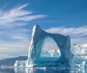 The cold Arctic Ocean Stock Photo 08