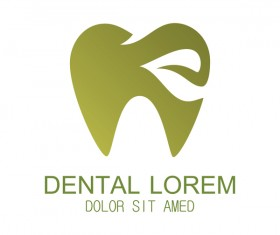 Tooth dental logo vector