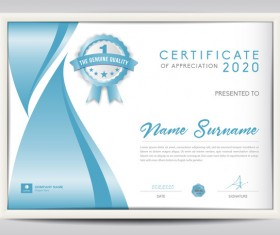 diploma vector for  vector certificate template diploma design 03